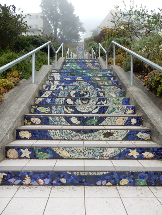 16th av tiled steps