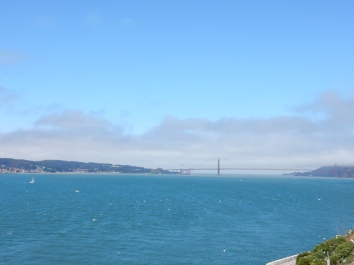 alcatraz bridge view